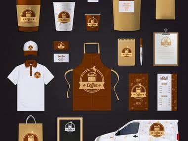 corporate-identity, business-stationery Design
