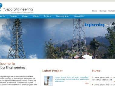 Puspa Engineering website