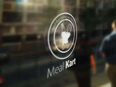 Meal Kart Logo Designing