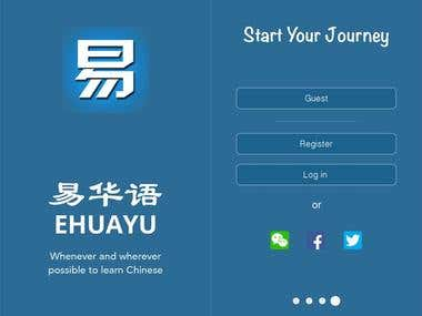 Educational App for Chinese learners