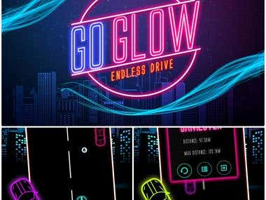 Go Glow Car Racing Game For Android