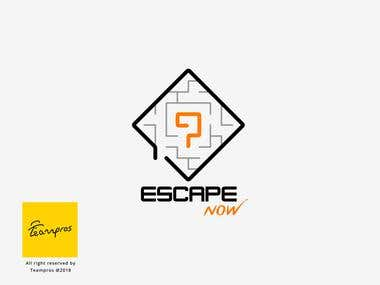 Escape Now-Logo Design