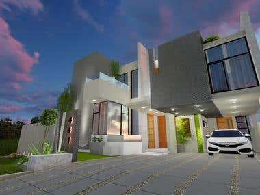 3D design for a house