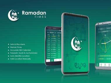 Ramadan Times (Android App)