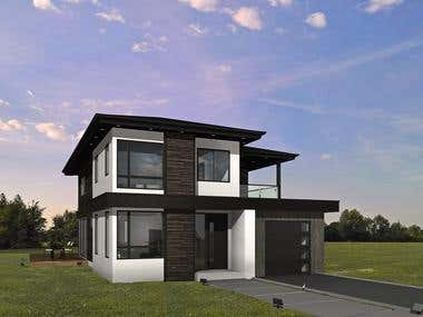 PROJECT 'G5' [Residential house]