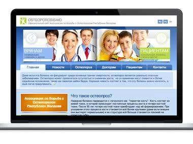 Medical Informational Website