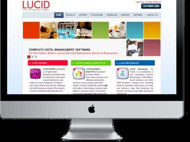 Website for Lucidits