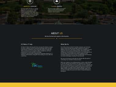 Wed site design & development
