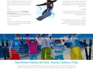 New Britain Falcons Ski Club