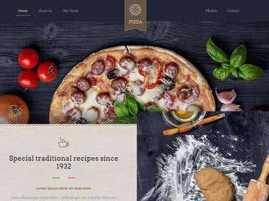 Pizza Shop (Full Website)
