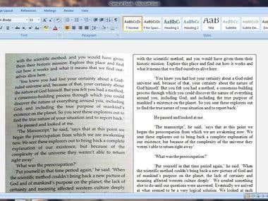 Converted JPG/JPEG file into an E-Book