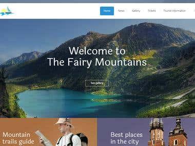 Tourist, Travel and Virtual Tour Full Website