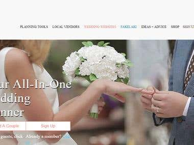 Wedding Planner PHP