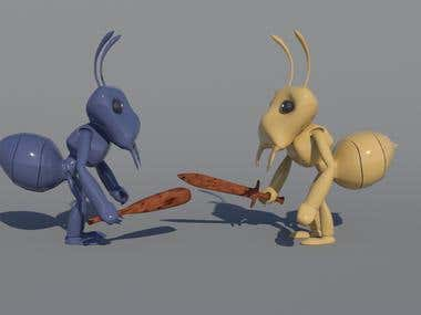 3D Ant Character