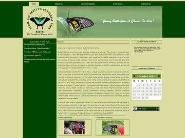 Sammilan Shetty's Butterfly Park Belvai