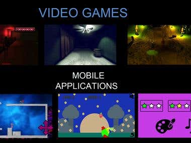 Games and mobile applications