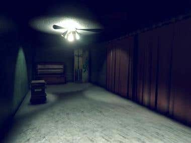 First Person Horror Game.