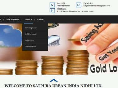 Satpura Urban India Nidhi Limited