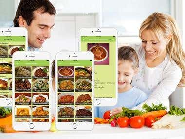 Home Cooking App
