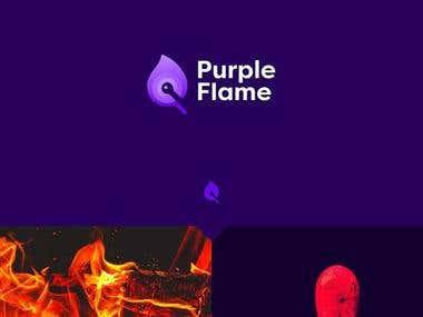 purple flame