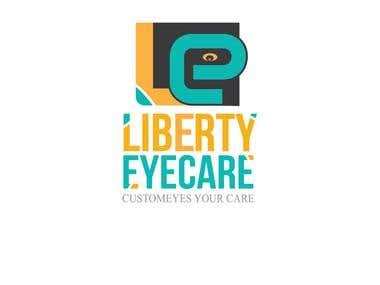 Eye care logo concept