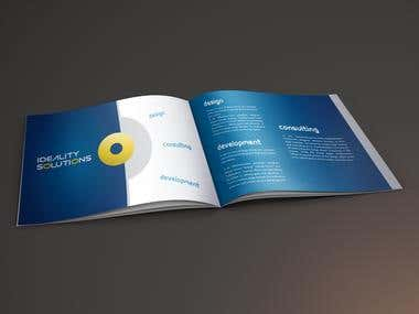 Ideality Solutions Brochure Designing