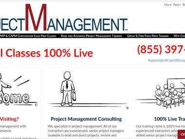 Experts in and teach basic and advanced project management s