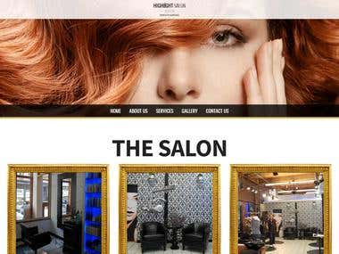 Highlight Salon Boston - Corporate Website