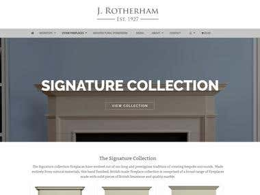 Jrotherham - Luxury Interior Design E-Commerce