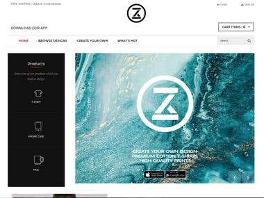 Zezign - Custom Clothing Design and E-Commerce