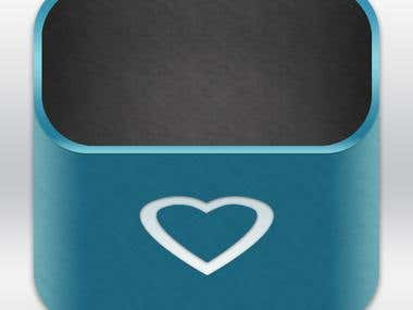 iOS Love Box Icon