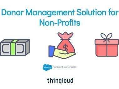 Donor Management Solution for Non Profits