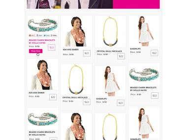 eCommerce Mockup