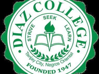 Diaz College Logo