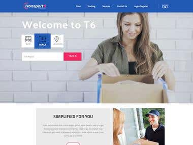 Transportation WordPress