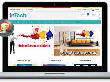 Online Print Shop - CakePHP