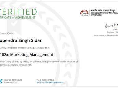 MK102x: Marketing Management