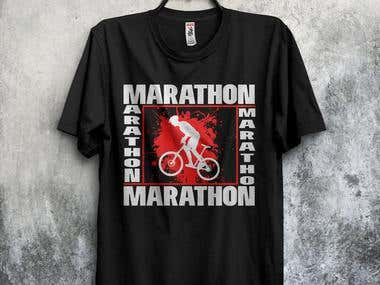 Marathon t-shirts design