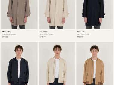 cloth online shopping, London