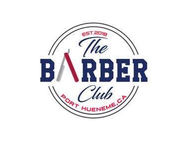 Barber logo design