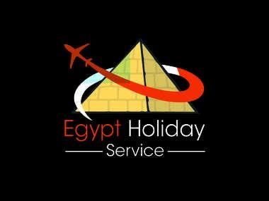 Holiday service logo