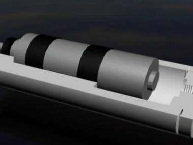 ROV thruster animation