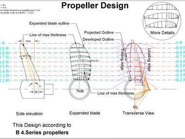 Propeller Drawing tutorial.