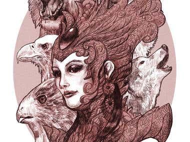The Queen of beasts.