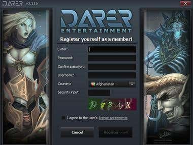 Darer Gaming Client