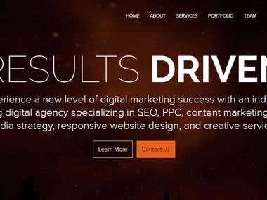 Online Digital Marketing Website