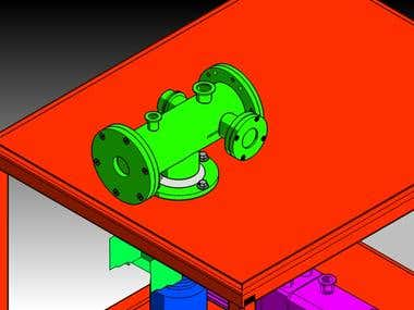 Designing of Cathode Testing Assembly
