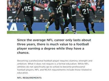 NFL Requirements