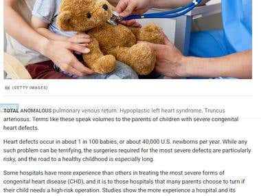 Hospitals for kids with Heart Diseases