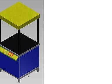 Designing and Development of Vacuum Forming machine